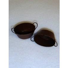 Miniature Rusty Tubs w_Handles