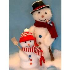 """Pattern - Frosty Friends - 9"""" & 16"""""""