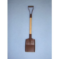 Rusted Mini Snow Shovel - 6 1_4