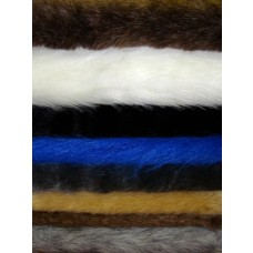 "Small Fur Fabric Bundle - 2 Yds 8-14"""