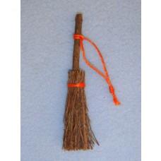 "Straw Broom - 3"" Pkg_4"