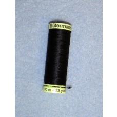 Thread - Doll Making - Black