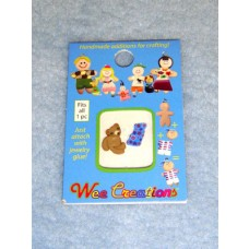 WC Baby Charms - Baby Blanket & Teddy Bear
