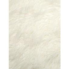 White Curly Mongolian Fur - 1 Yd