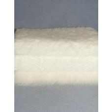 White Fur Fabric Bundle - 3 Yds
