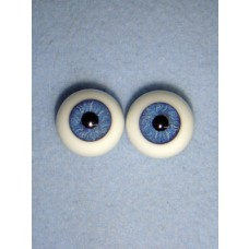 |Doll Eye - Karl's Natural-Looking Glass - 24mm Dark Blue