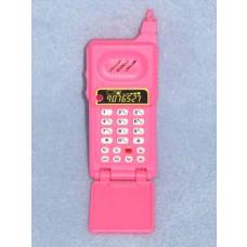" Flip Phone - 3 3_4"" Pink"
