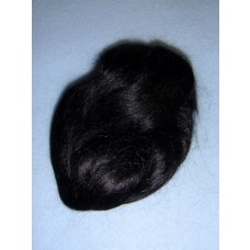  Hair - English Mohair - Black - 1 Yd
