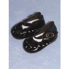 " Shoe - Mary Jane Cutwork - 2 3_4"" Black"