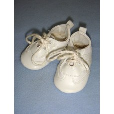 "|Shoe - Tennis - 2 7/8"" White"