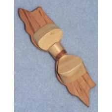 " Wood - Dimensional Bow - 4"""