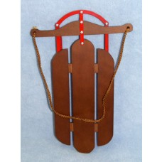 |Wood & Metal Sled - 11 3/4""