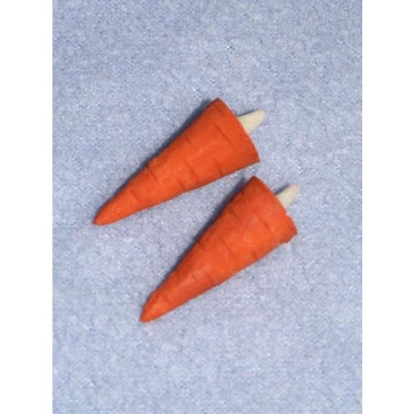 """1 1_4"""" Carrot Nose For Snowman Pkg2"""