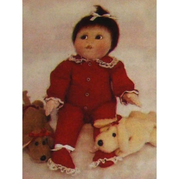 "26"" Baby Bottoms Cloth Doll Pattern"
