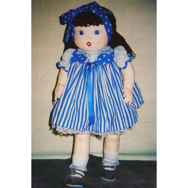 """26"""" Beth Cloth Doll Pattern"""