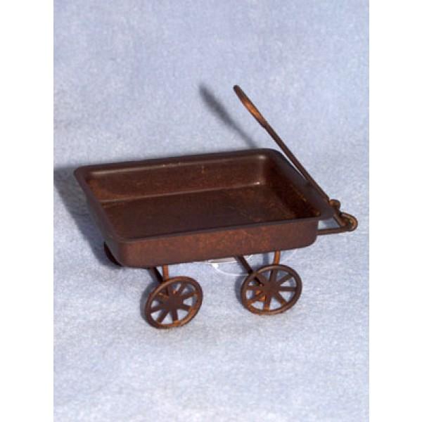 """3 1_4"""" Rusty Tin Wagon"""
