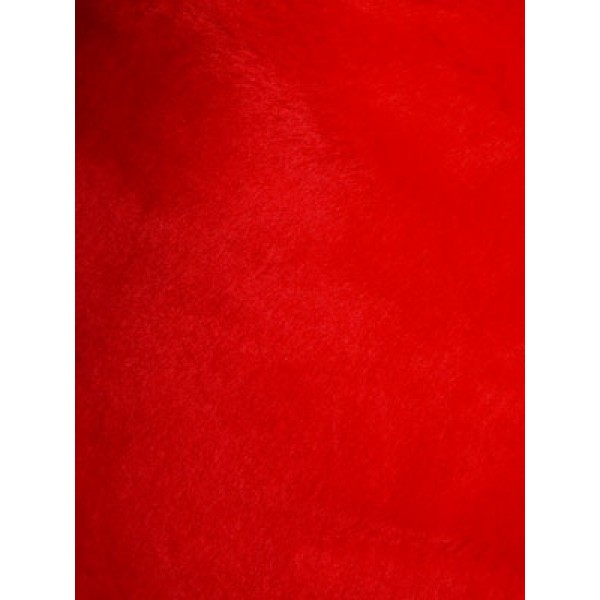 Acrylic Fur - Seal - Cherry Red