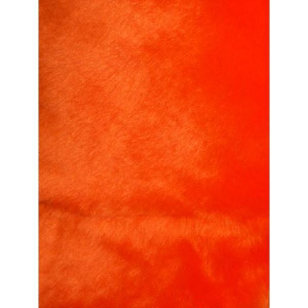 Acrylic Fur - Seal - Orange