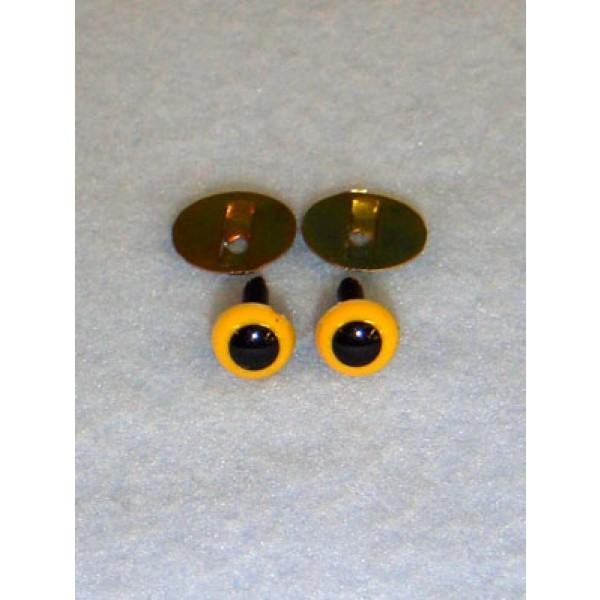 Animal Eye - 4.5mm Yellow Pkg_100