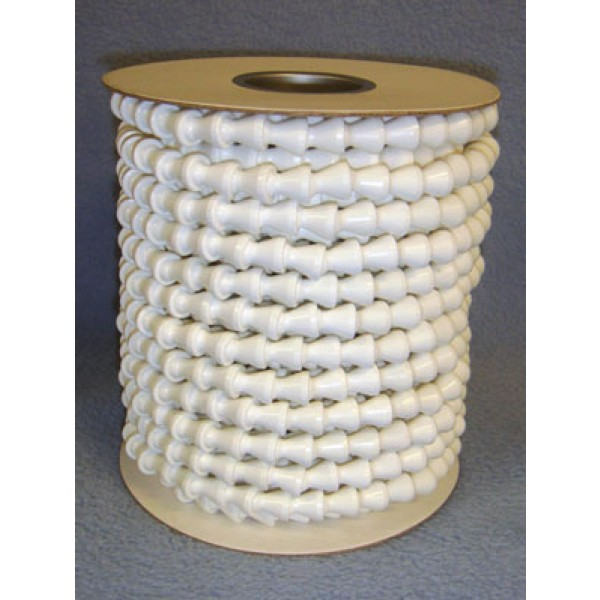 "Armature-Plastic-Per Foot-3_16"" White"