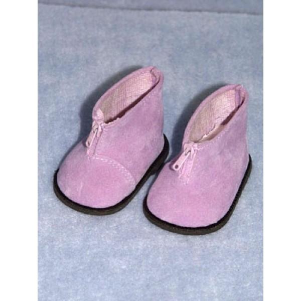 """Boot - Ankle w_Zipper - 3"""" Purple Suede"""