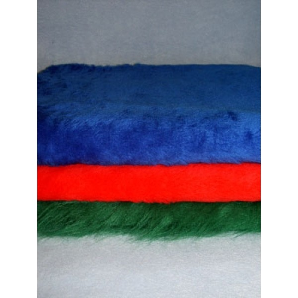 Bright Colored Fur Fabric Bundle - 3 Yds