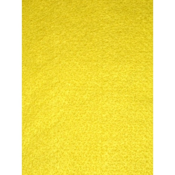 Craft Velour - Yellow - 1 Yd
