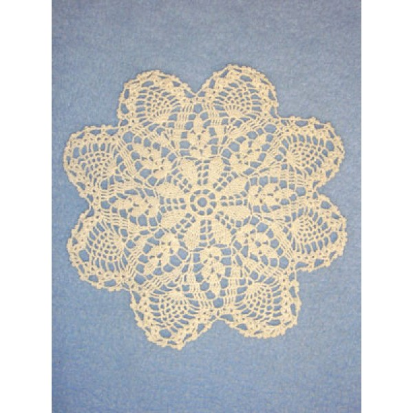 "lDoily - Pineapple - 6"" Natural"