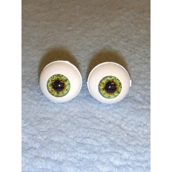 Doll Eye - Real Eyes - 12mm - Green (Ocean)