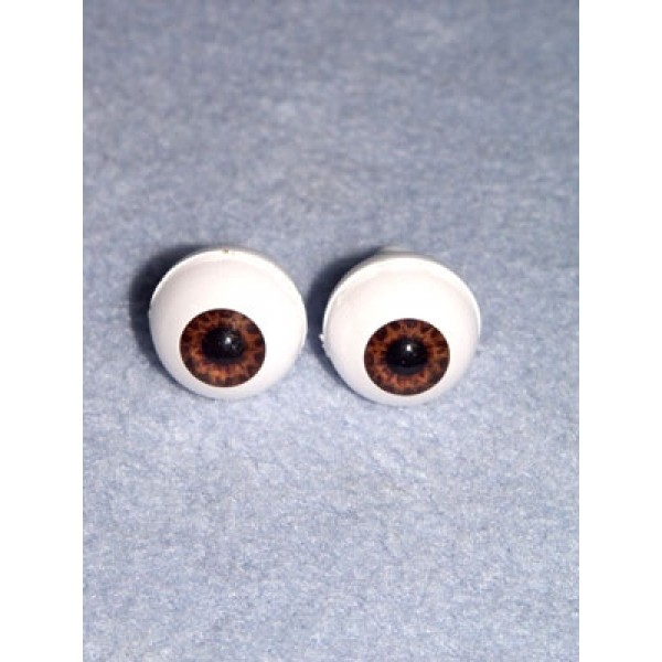 Doll Eye - Real Eyes - 20mm  Brown (Tiger Eye)