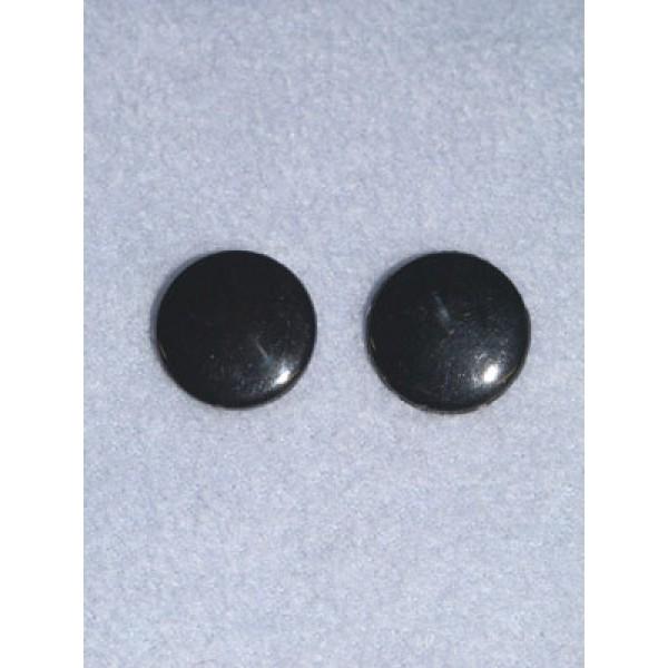 Eye - Flat Sew-on 12mm Black Pkg_20