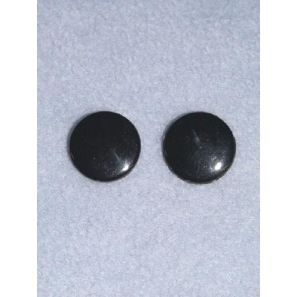 Eye - Flat Sew-on 10mm Black Pkg_20