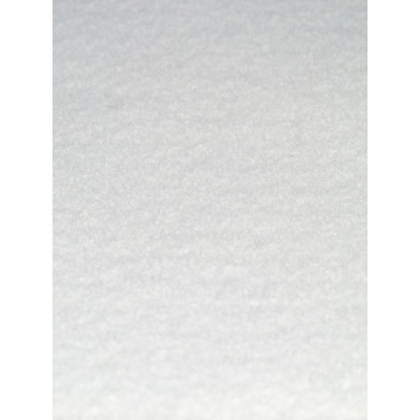 "Felt 9oz Wool_Rayon 12x18"" White"