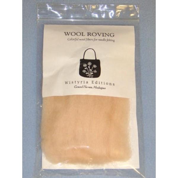 Flesh Wool Roving