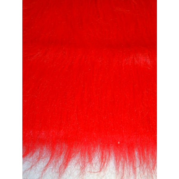 Fur - Fun Fur - Red - 1 Yd