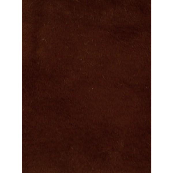 Fur - Short Pile - Coffee Brown