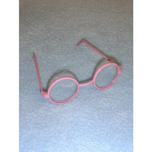 "Glasses - Round - 3"" Lavender"
