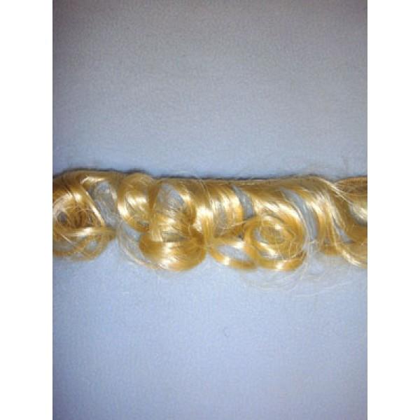 Hair - Synthetic Mohair Weft - Lt Peach Blond - 1 Yd