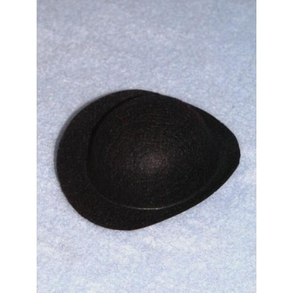 """Hat - Derby - 6"""" Black"""