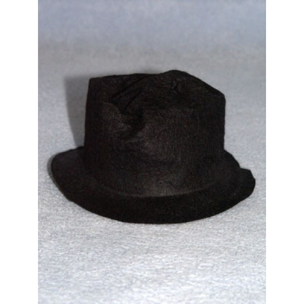 "Hat - Snowman_Hobo - 3"" Black"