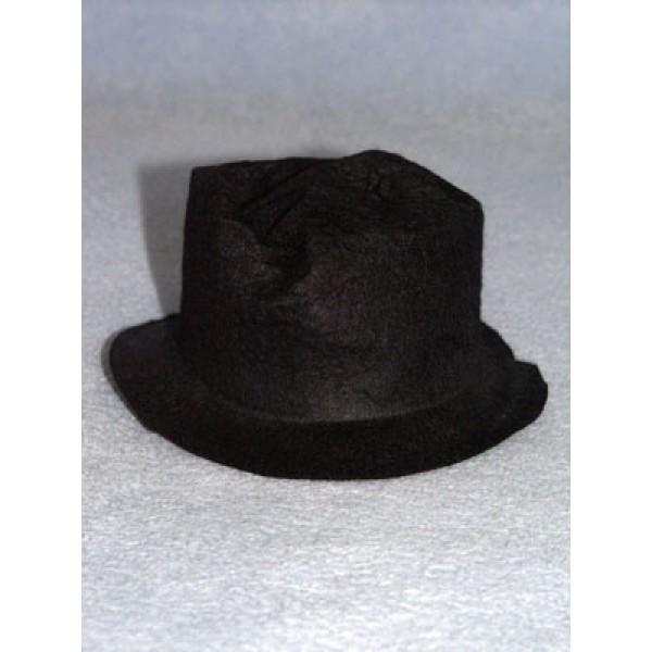 "Hat - Snowman_Hobo - 5 1_2"" Black"