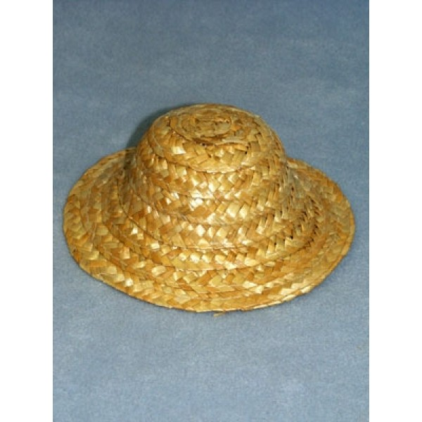 "Hat - Straw - 3"" Natural"