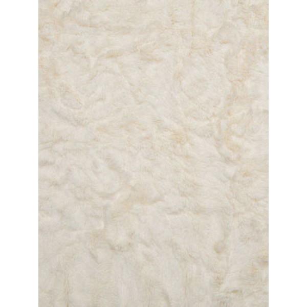 Ivory Soft Cuddle Crush Fabric - 1 Yd