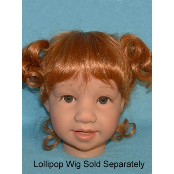 Jilly Bean Head - Brown Eyes