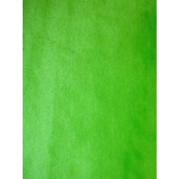 Lime Short Pile Fur Fabric 1 Yd