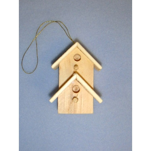 Miniature Wooden Bird House