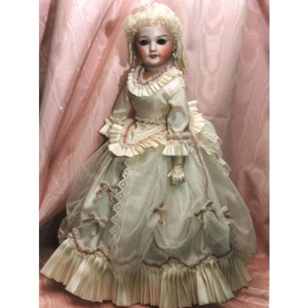 Pattern - French Fashion Dress - 20