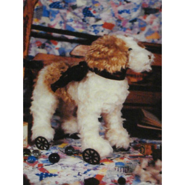 """Pull Toy Terrier Pattern - 15"""""""