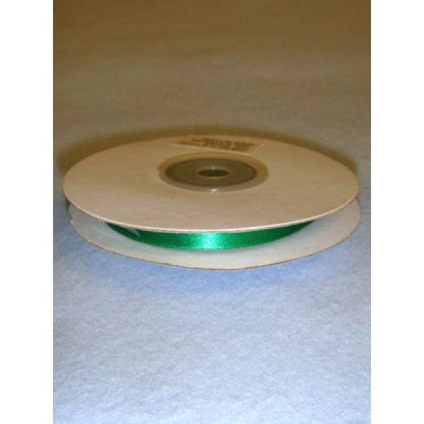 "Ribbon - 1_4"" Emerald - 25 Yds"