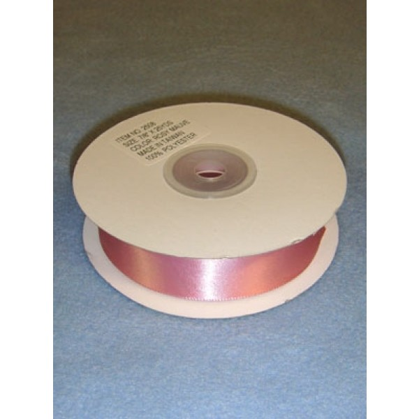 "Ribbon - 7_8"" Rosy Mauve"